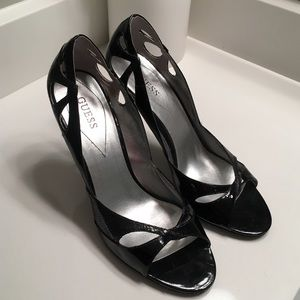 Guess Black high heels Size 9.5 barely worn